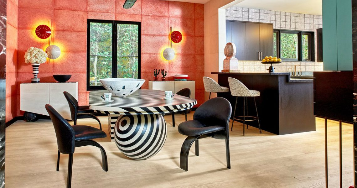 Kelly Wearstler's Most Iconic Dining Room Projects