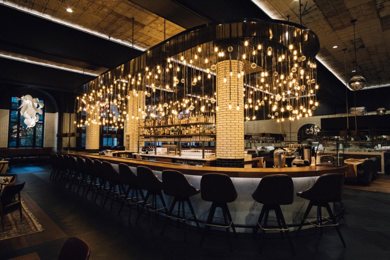 design projects Simeone Deary's Astonishing Dining Room Design Projects the detroit foundation hotel