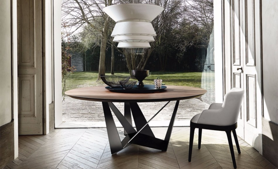 ROUND TABLES  design trends Dining Table Design Trends For This Fall/Winter Dining Table Design Trends For This FallWinter 8