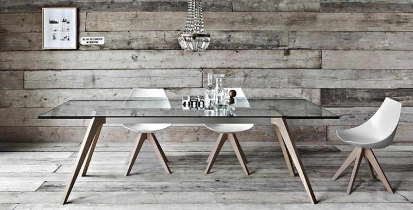 modern glass dining table Amazing Modern Glass Dining Tables modern glass dining table