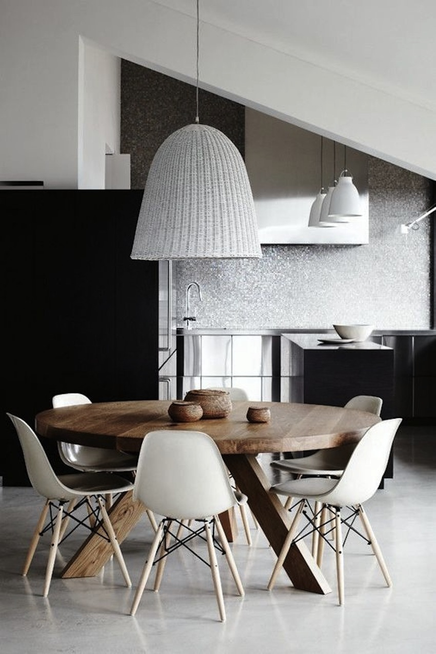 Top 10 Modern Round Dining Tables 7