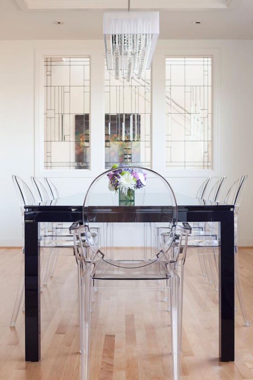 10 Gorgeous Black Dining Tables For Your Modern Dining Room Covet Edition