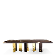 narrow dining tables 10 Narrow Dining Tables For a Small Dining Room empire