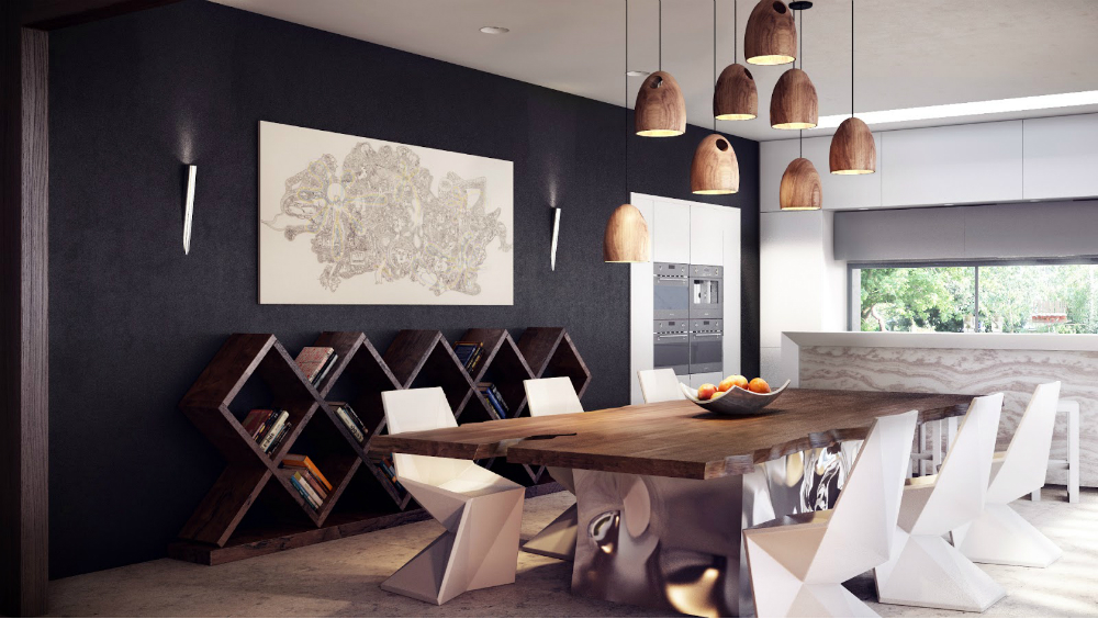 Design Dining Tables 6 Design Dining Tables, Modern and Famous beautiful rustic modern dining room