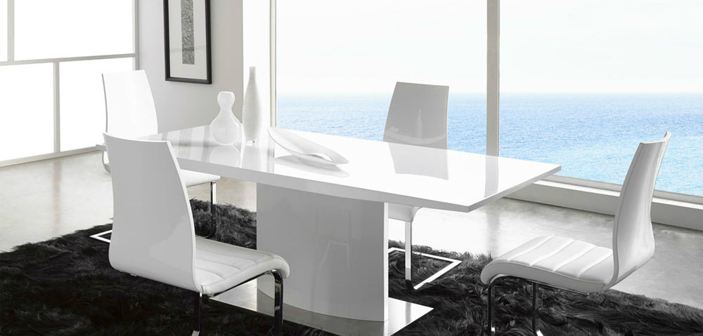 white dining table White Dining Tables For an Elegant Dining Room 1 fttt