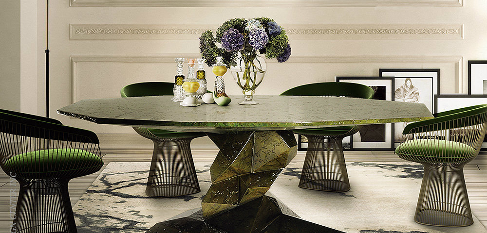 dining table 14 Modern Dining Tables To Be Inspired By Bonsai Dining Table Rainforest 4