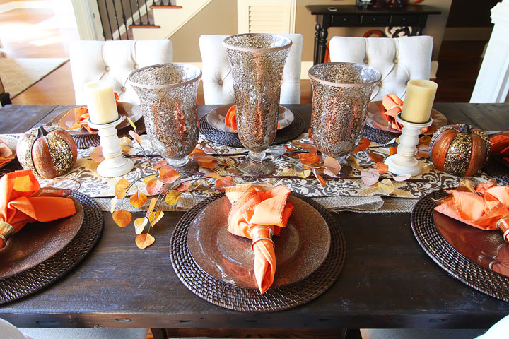 thanksgiving 18 Decoration Ideas for Thanksgiving fall dining table decor inspiration 13 2