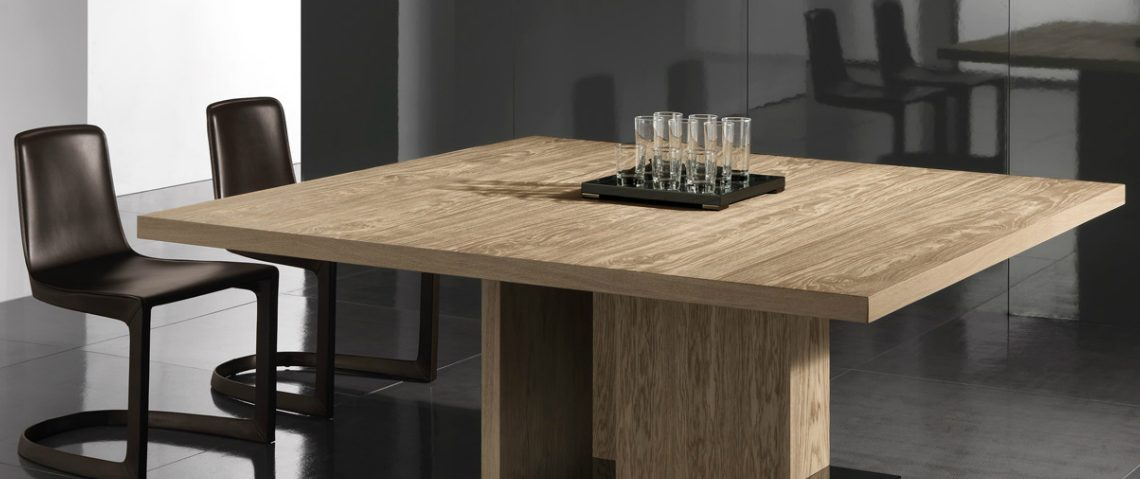 square oak dining tables 10 Fabulous Square Oak Dining Tables 1 6 1140x479