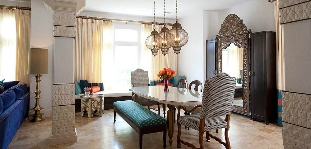 moroccan Give your Dining Room a Moroccan Twist 11 5