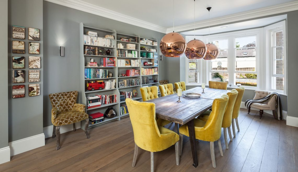 dining room Gray and Yellow: Stylish Color Duo for your Dining Room 111 2 1140x660