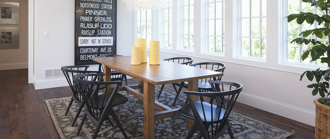 black and white 10 Modern Black And White Designs For Your Dining Area 1111 1 1140x481