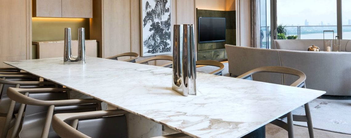 marble dining table The Most Luxurious Marble Dining Tables 01 1140x449