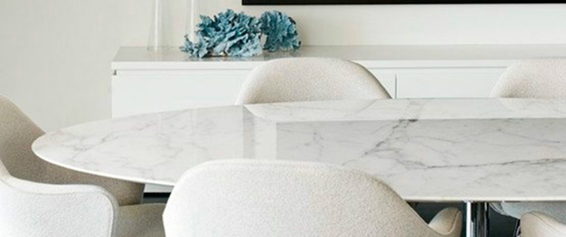 white 10 Contemporary White Dining Rooms 1111 1140x479