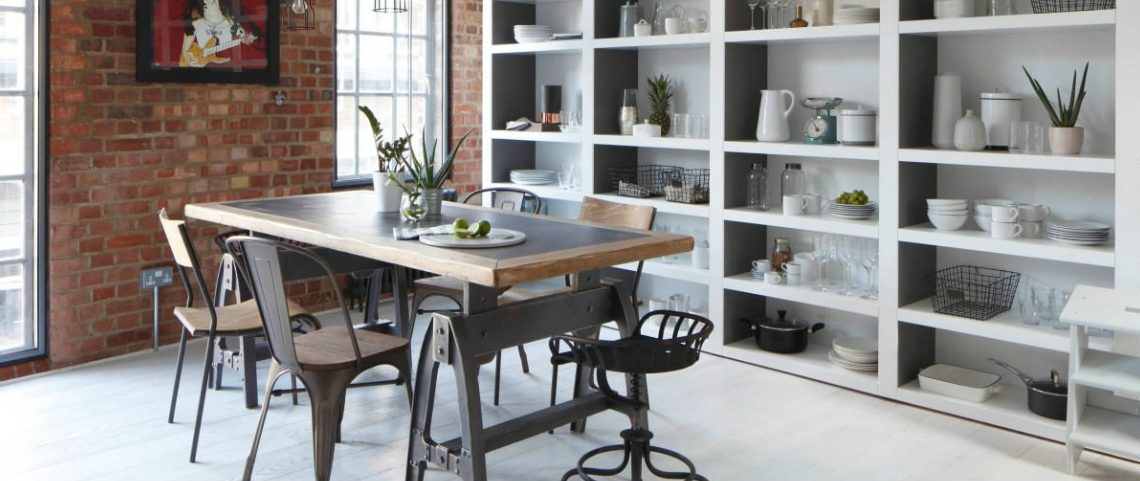 30 Ways To Create A Trendy Industrial Dining Room: 10 Ways To Create A Stylish Industrial Dining Room