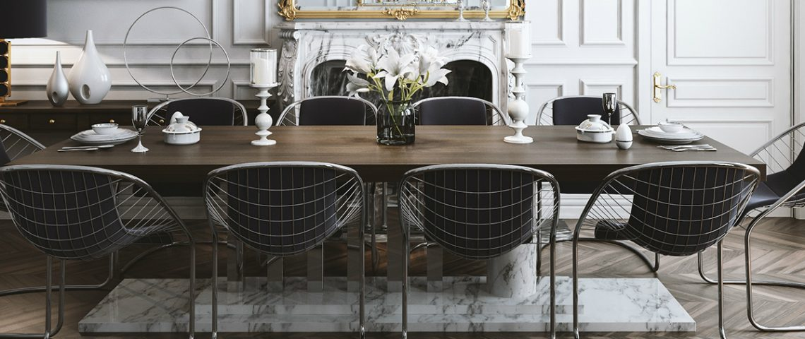 dining room Get inspired by 15 Modern Dining Room Ideas 11 1140x480
