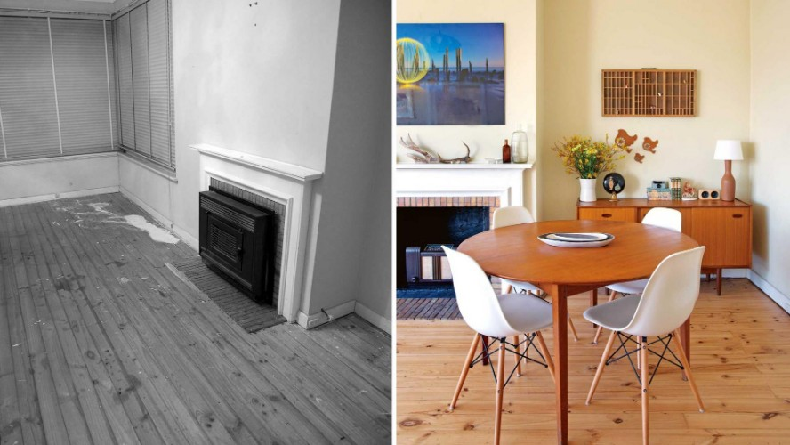 Dining Room transformation Before & After: 10 Amazing Dining Room Transformations before after dining room apr13 20150604114421 q75dx1920y u1r1g0c 1 1