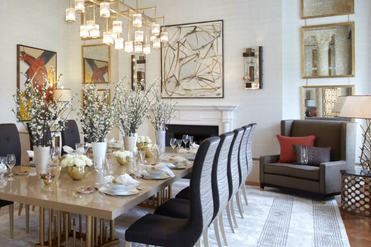 helen green Top 100 Coveted Magazine: Brilliant Dining Rooms by Helen Green duplex apartment hyde park 1