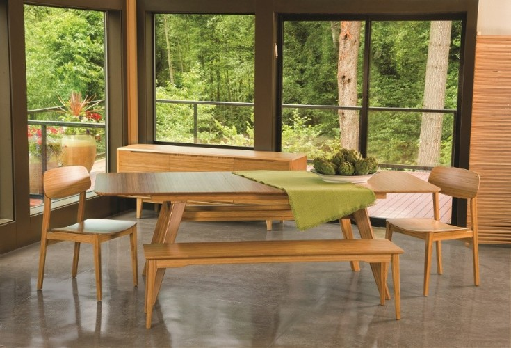 eco-friendly dining room Go Green: 10 Ideas For An Eco-friendly Dining Room greenington Currant Dining 1