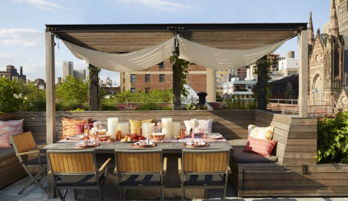 Rooftop Dining Room Rooftop Dining Room Ideas For This Summer landscape hbx080116kitchen02 1 1 1140x660