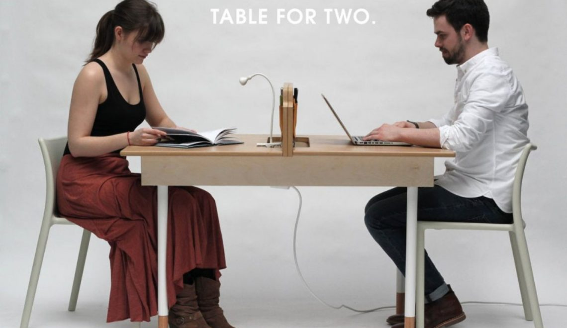 adaptable dining table A Modern Adaptable Dining Table table for two daniel liss 1 1140x660