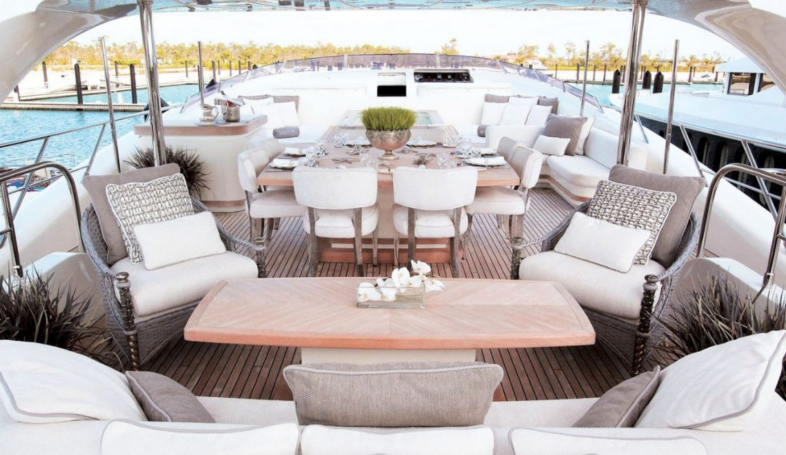 yacht dining table Get Amazed With These Luxurious Yacht Dining Tables yacht sealyon ypi exterior 1 1 1140x660
