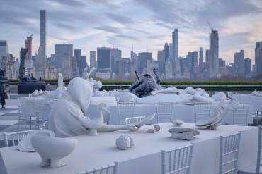An Artistic Dining Area You Need To See | www.bocadolobo.com #moderndiningtables #diningroom #diningarea #thediningroom #exclusivedesign #metropolitanmuseum #newyorkcity