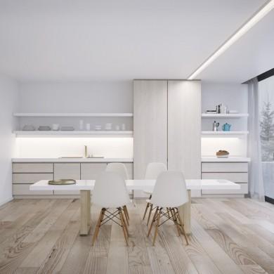 10 Brilliant Ideas Of All-White Dining Rooms | www.bocadolobo.com #moderndiningtables #diningarea #thediningarea #diningareadesign #white #luxury #allwhite #interiordesign #homedecorideas @moderndiningtables