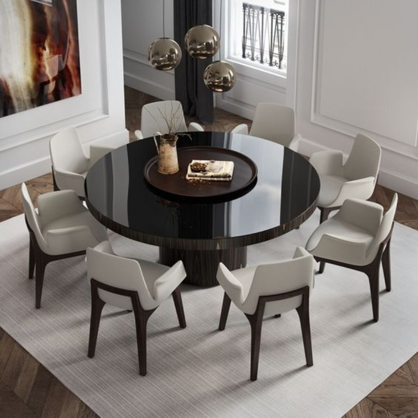 Contemporary Dining Tables For Your Room 10 Round To Create