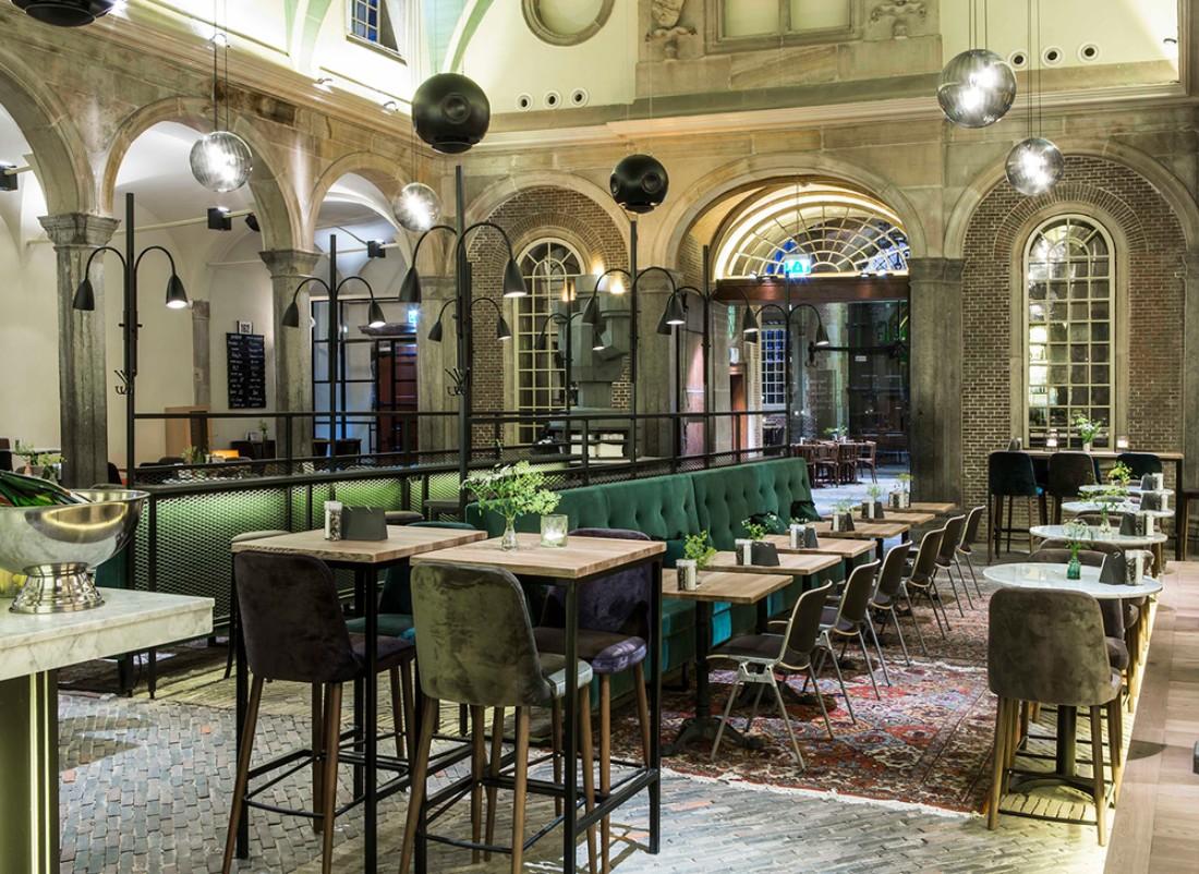 The Stunning Interior Design of The Waag Restaurant