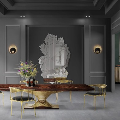 The Most Amazing Dining Table To See at Maison et Objet 2018 | www.bocadolobo.com #maisonetobjet #maisonetobjet2018 #paris #moderndiningtables #exclusivedesign #diningroom #thediningroom #diningarea @moderndiningtables
