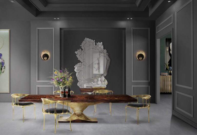 The Most Amazing Dining Table To See at Maison et Objet 2018   www.bocadolobo.com #maisonetobjet #maisonetobjet2018 #paris #moderndiningtables #exclusivedesign #diningroom #thediningroom #diningarea @moderndiningtables