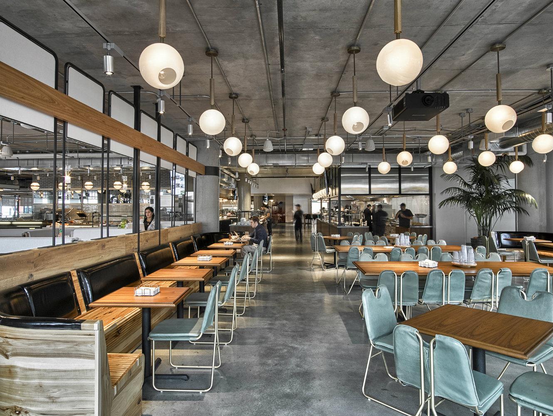 The Brilliant Interior Design of The Dropbox Cafeteria