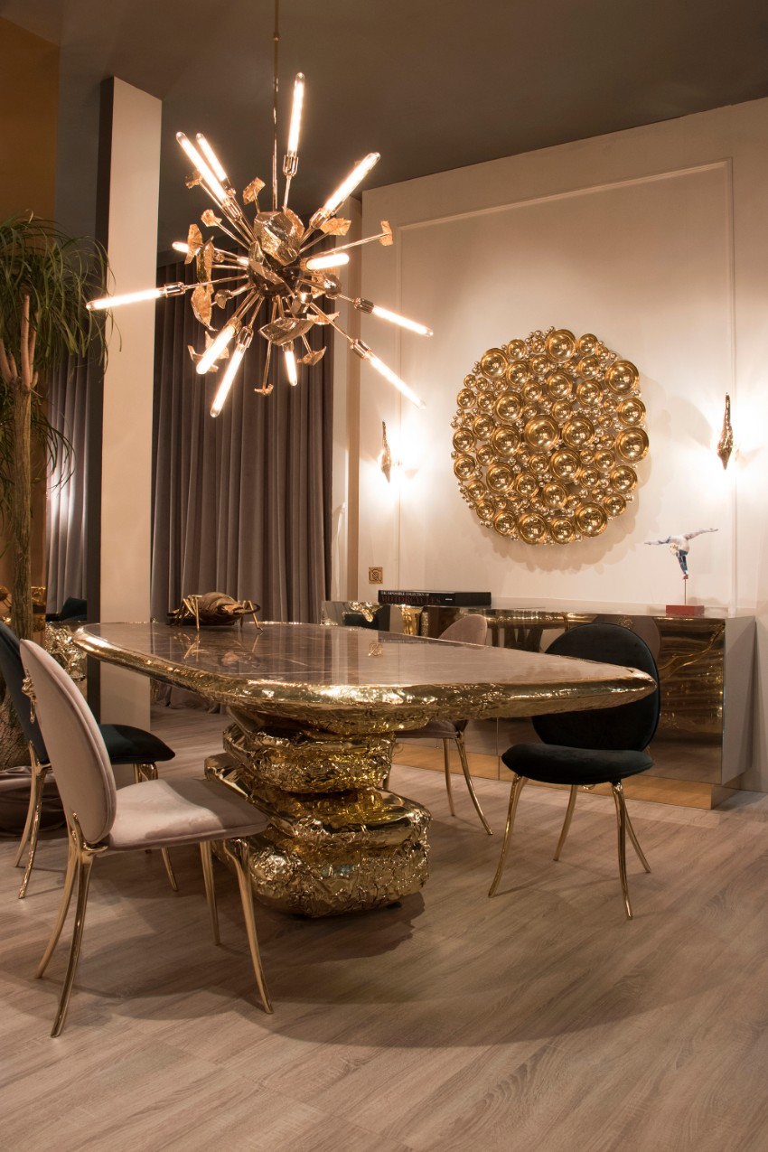 the best modern dining tables at salone del mobile 2018 | modern Best Modern Dining Tables