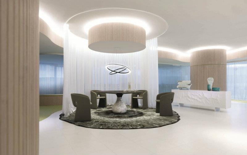 dining room decor ideas 5 Astonishing Dining Room Decor Ideas Table aqua Fabrice Berrux Feature Image
