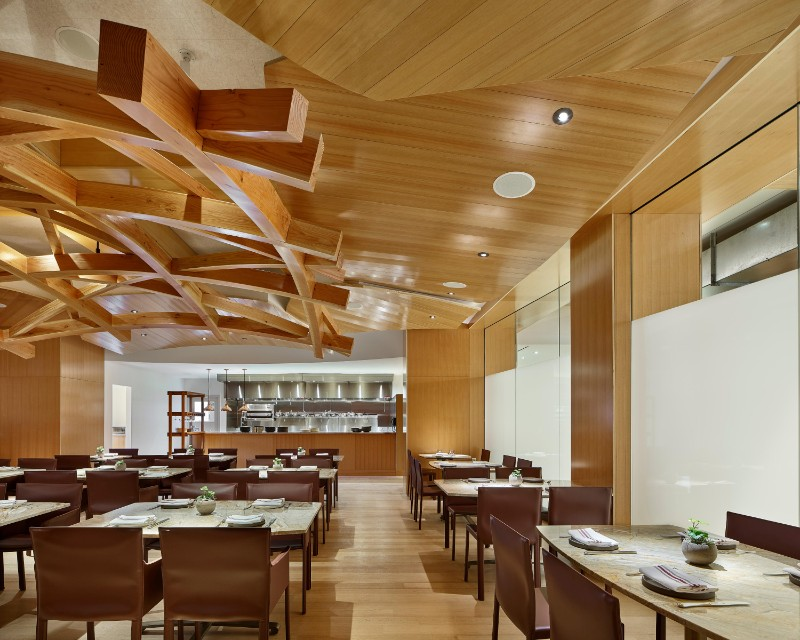 Take a Peek Inside Gehry's New Restaurant