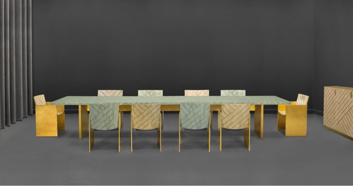 Discover Scarlet Splendour's Contemporary Dining Tables
