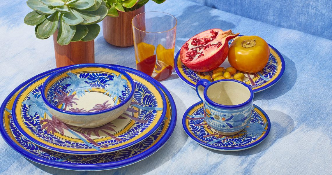 Moda Operandi's Exclusively Colorful Tableware
