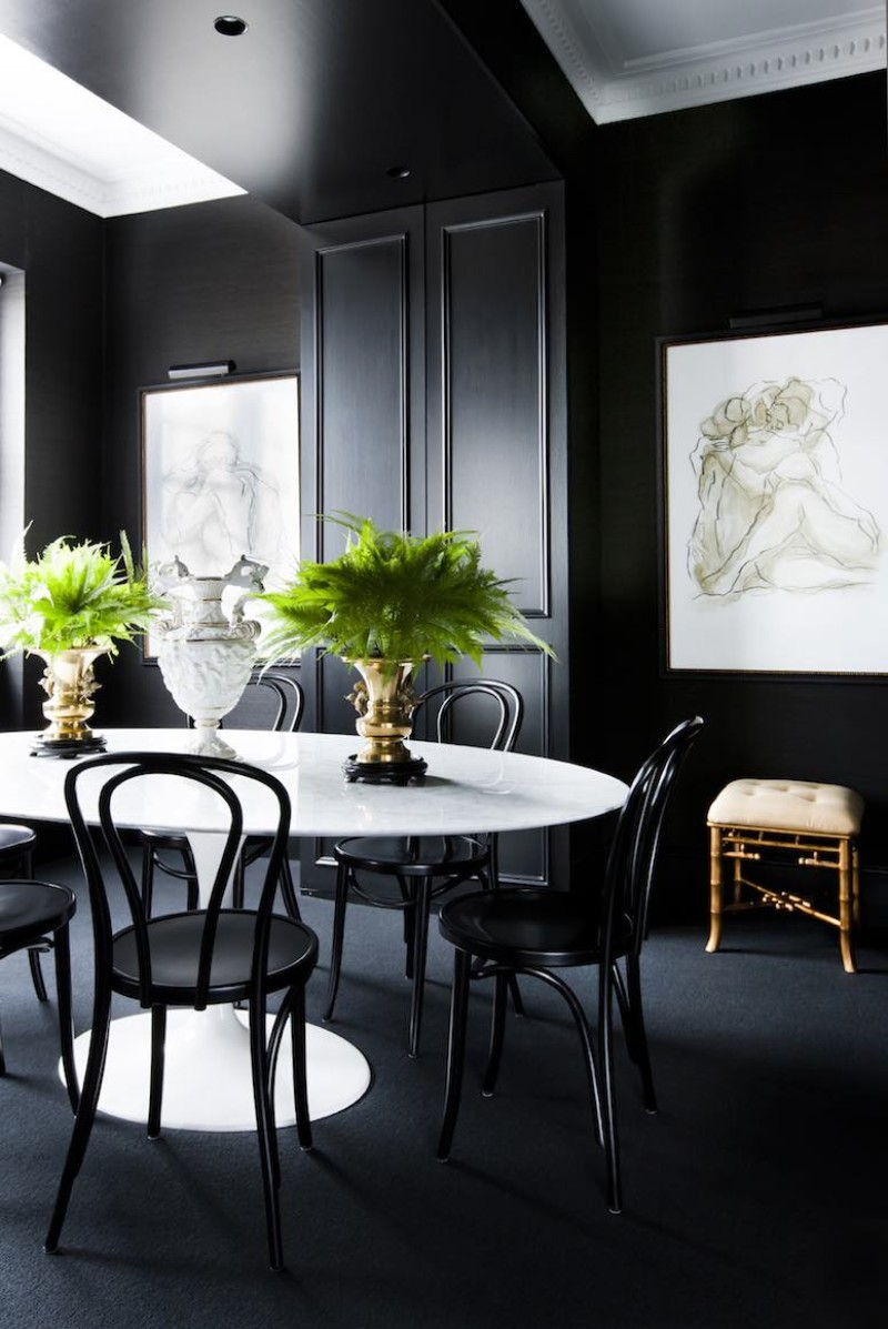 Brendan Wong's Best Luxury Dining Room