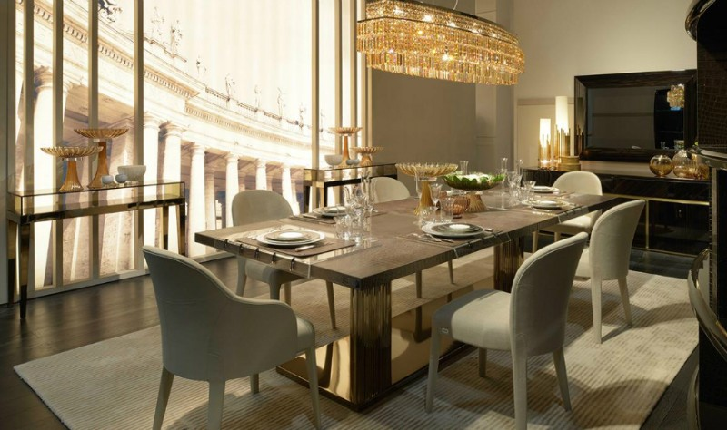 Dining Tables for A Big Christmas Gathering