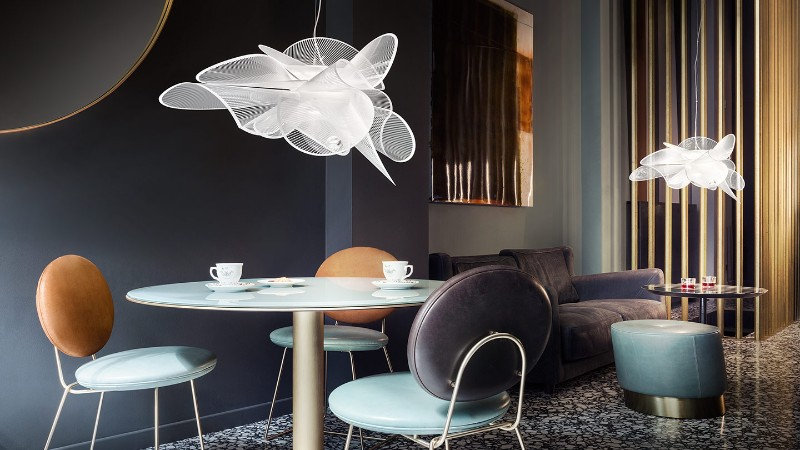 Discover Slamp's Contemporary Lamps for Your Modern Dining Design slamp Discover Slamp's Contemporary Lamps for Your Modern Dining Design Discover These Contemporary Lamps for Your Modern Dining Design 3