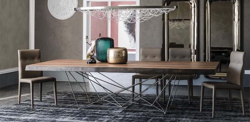 Most Amazing Wooden Tables Cattelan Italia Cattelan Italia's Most Amazing Wooden Tables Most Amazing Wooden Tables 8