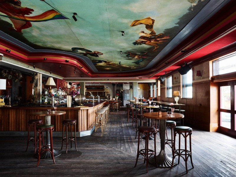 The Imperial Erskineville – A Kaleidoscope-Colored Dining Design