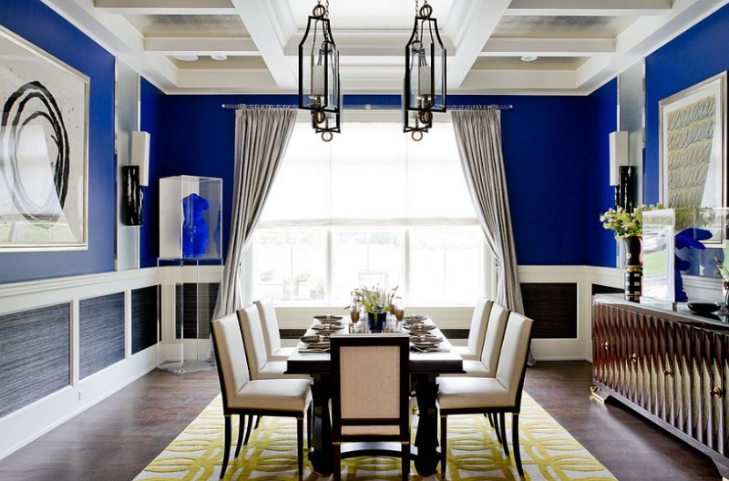 blue dining rooms What's Hot On Pinterest: Astonishing Blue Dining Rooms Whats Hot On Pinterest Astonishing Blue Dining Designs 15 1