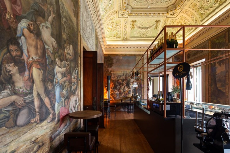 18th Century Palace Renovated with An Amazing Design restaurant design 18th Century Palace Renovated with An Amazing Restaurant Design 18th Century Palace Renovated with An Amazing Design 5