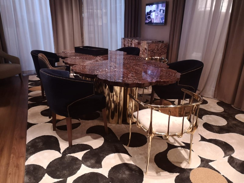 The Best Modern Dining Tables at Maison et Objet