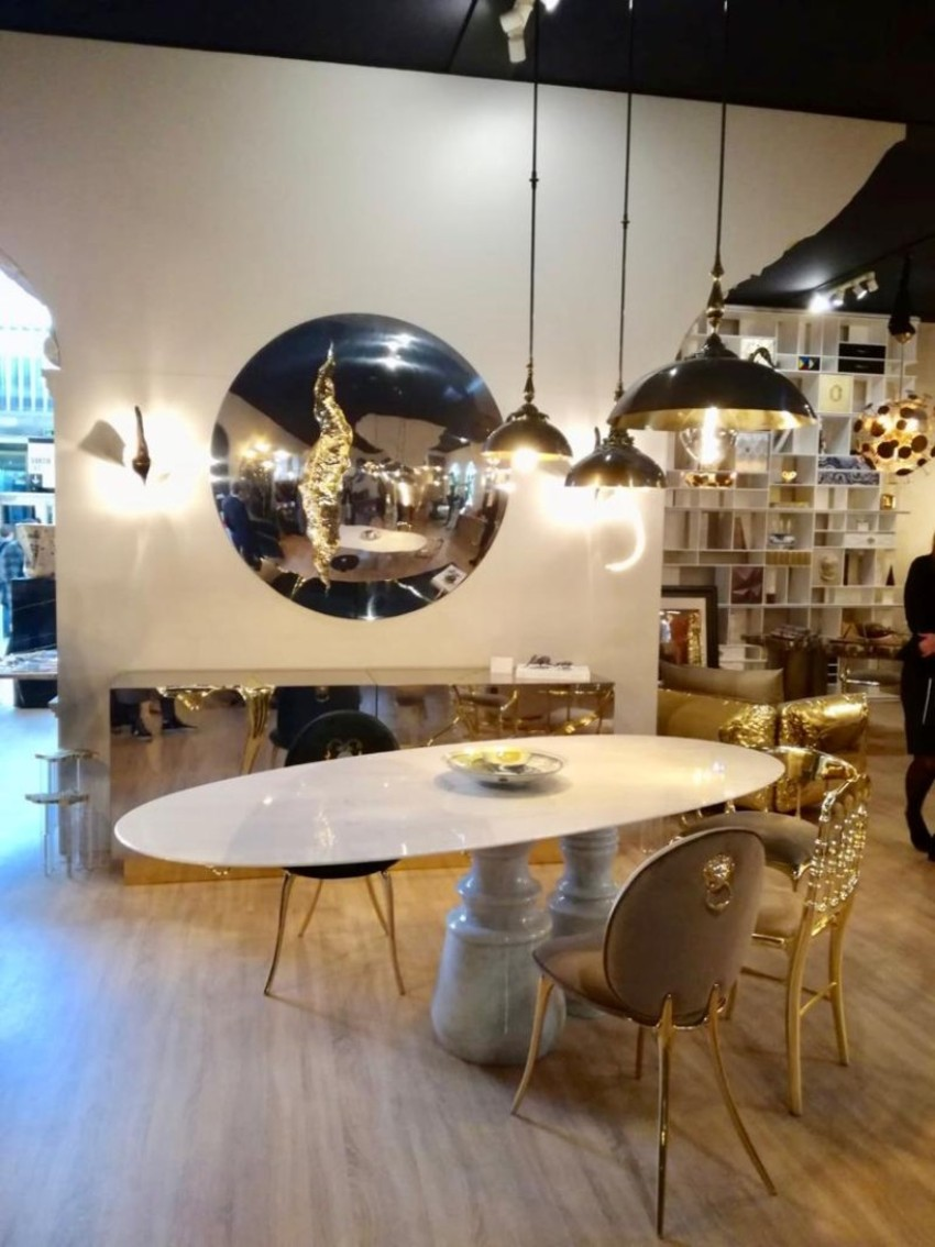 marble table Pietra: A Statement Marble Table for Your Dining Room Boca do Lobos Novelties 10 texto