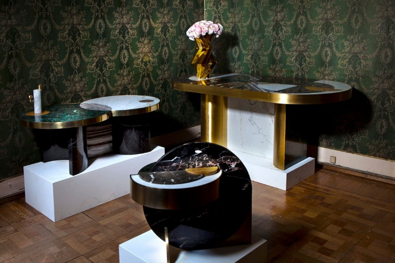Half Moon Dining Table: An Iconic Piece By Lara Bohinc lara bohinc Half Moon Dining Table – An Iconic Piece By Lara Bohinc Half Moon Marble Brass Gold Plated Dining Table Lara Bohinc 8 org 1