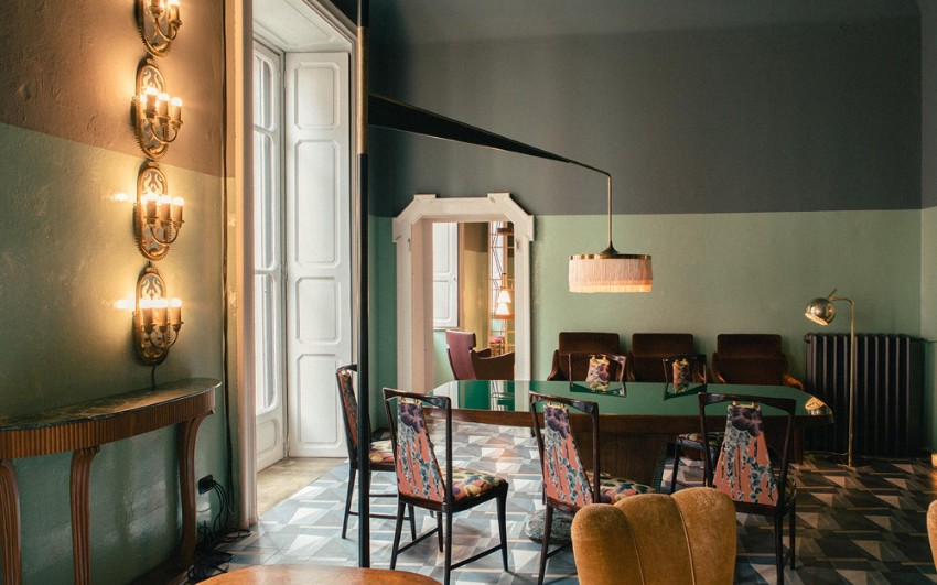 Italian Dining Room Design by Dimore Studio