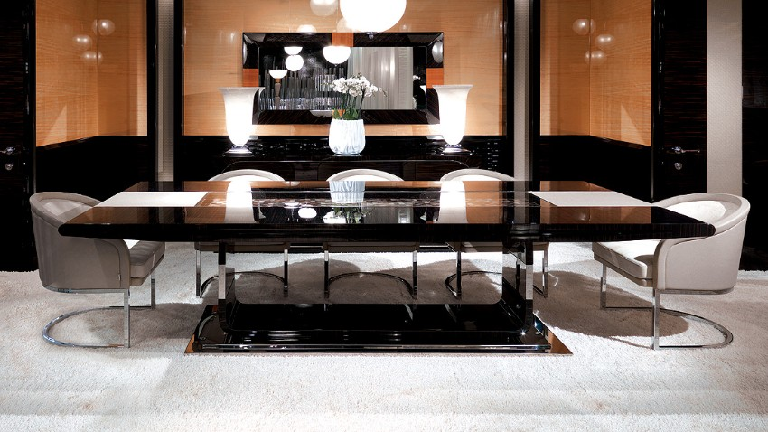Luxury Dining Tables That Make a Statement modern dining tables Luxury Modern Dining Tables That Make a Statement Luxury Modern Dining Tables That Make a Statement 5