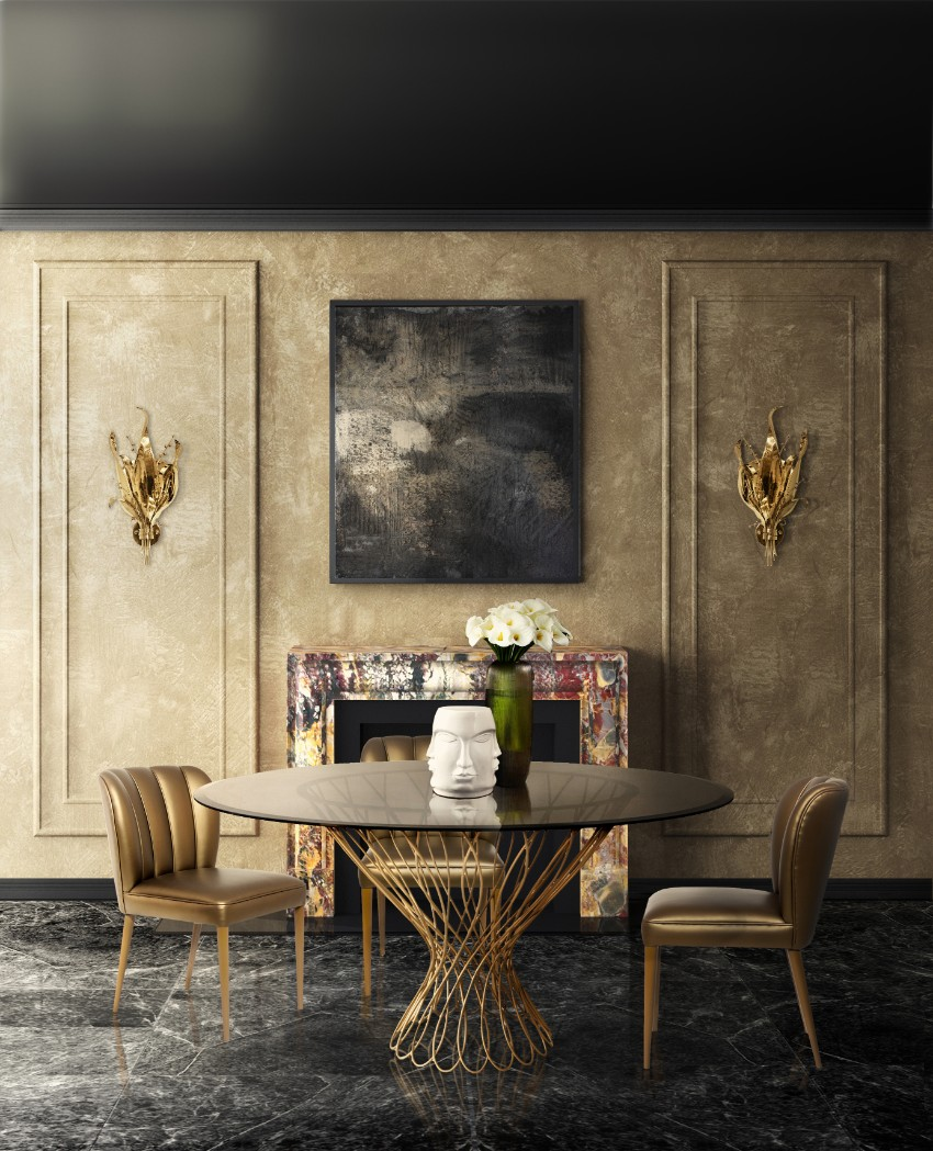 Luxury Dining Tables That Make a Statement modern dining tables Luxury Modern Dining Tables That Make a Statement Luxury Modern Dining Tables That Make a Statement 6
